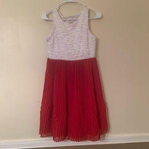 Sweet Heart Rose dress girls size 14